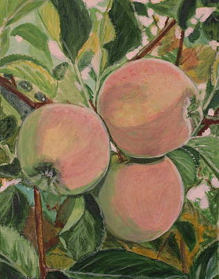 Painting - Apples by Vera Lysenko