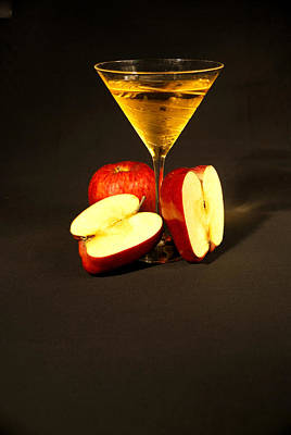 Martini Royalty-Free and Rights-Managed Images - Appletini by Roy Williams