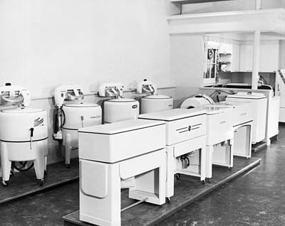 Appliance Store Display Art Print by Underwood Archives