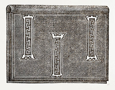 Applique, 19th Century Print by Litz Collection