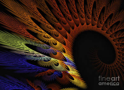 Digital Art - Applique by Shari Nees