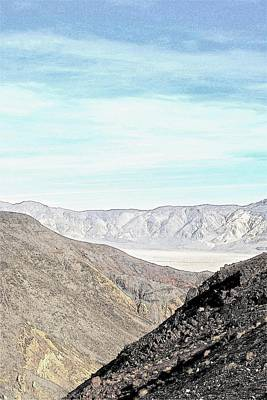 Photograph - Approaching Death Valley by Ruth Edward Anderson