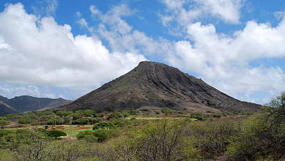Photograph - Approaching Diamond Head by Caroline Stella
