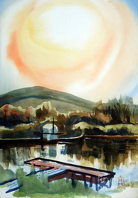 Brilliant Painting - Approaching Dusk I by Kip DeVore
