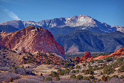 Photograph - Approaching Garden Of The Gods #1 by Nikolyn McDonald