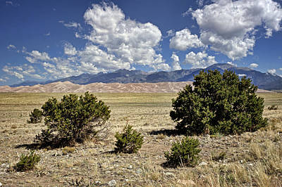 Photograph - Approaching Great Sand Dunes #4 by Nikolyn McDonald