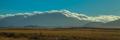Photograph - Grassland Approaching Humphreys Peak by Ed Gleichman