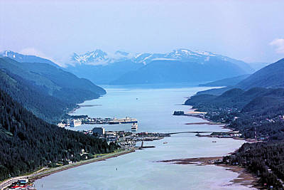 Photograph - Approaching Juneau by Kristin Elmquist
