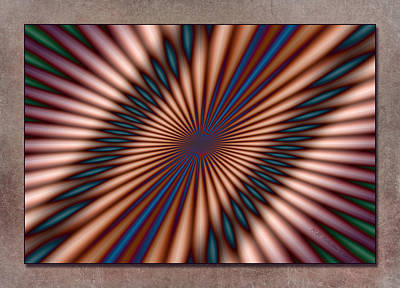 Approaching Light Speed Art Print