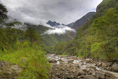 Tree Photograph - Approaching Machu Picchu by Alexey Stiop