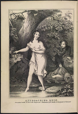 Depictions Of Nudity Photograph - Approaching Ruin by British Library
