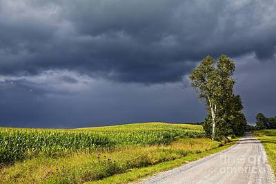 Photograph - Approaching Storm by Alan L Graham