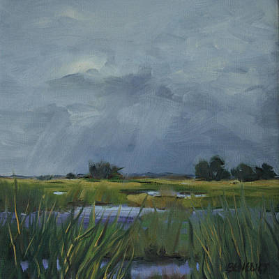 Painting - Approaching Storm by Barbara Jones