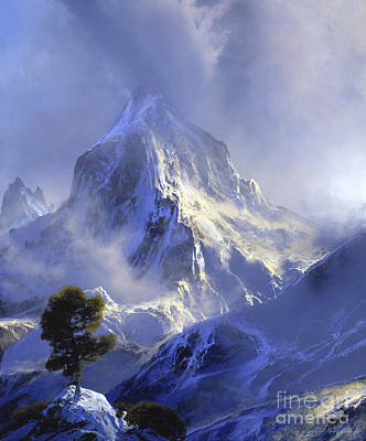 Mist Painting - Approaching Storm by David Lloyd Glover