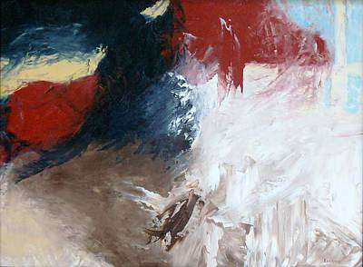 Wall Art - Painting - Approaching Storm by Linda Wimberly