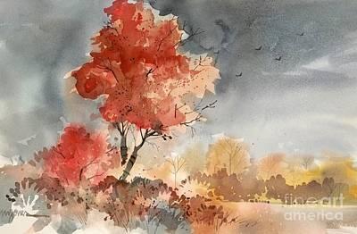 Approaching Storm Art Print by Micheal Jones