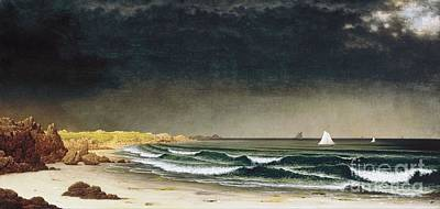 Painting - Approaching Storm Newport Beach by Pg Reproductions