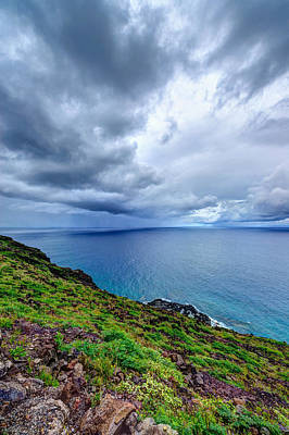 Photograph - Approaching Storm Over Makapuu by Jason Chu