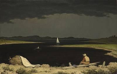 Approaching Thunder Storm 1859 Art Print