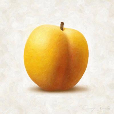 Apricot Print by Danny Smythe
