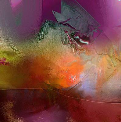Digital Art - Apricot Garden by Davina Nicholas
