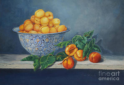Apricots And Peaches Art Print