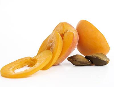 Apricots Print by Bernard Jaubert