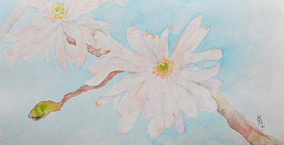 Gardenia Painting - April 1st by Beverley Harper Tinsley