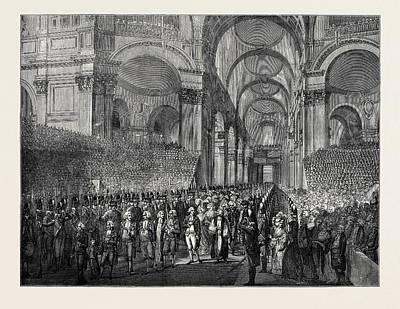 April 23, 1789 King George IIi. Visiting St Art Print