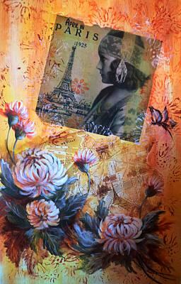 Painting - April In Paris 1925 by Patricia Rachidi