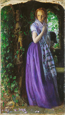 Pre-raphaelite Painting - April Love by Philip Ralley