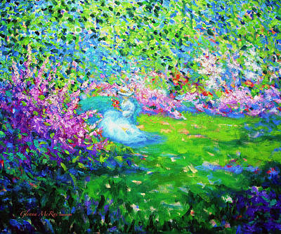 Painting - April's Wedding Song by Glenna McRae