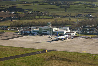 Airport Terminal Photograph - Apron At City Of Derry Airport by Colin Bailie