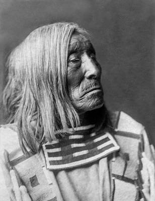 Wall Art - Photograph - Apsaroke Native Indian Circa 1908 by Aged Pixel