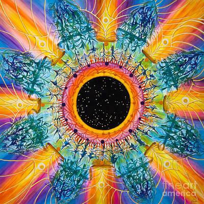 Constellations Painting - Apus Iris Constellation by Presa Hall