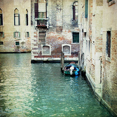 Photograph - Aqua - Venice by Lisa Parrish