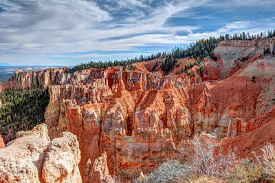 Photograph - Aqua Canyon At Bryce Canyon National Park by John M Bailey