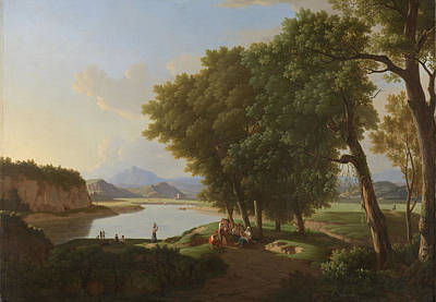 Aqua Cetosa Near Rome, Acetosa, Pieter Rudolph Kleijn Art Print by Litz Collection