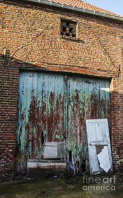 Photograph - Aqua Doors by Deborah Smolinske