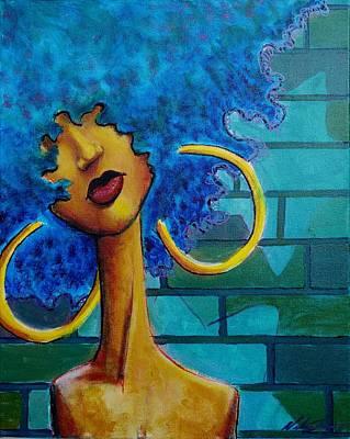 Aqua Fro Original by Nelson Perez