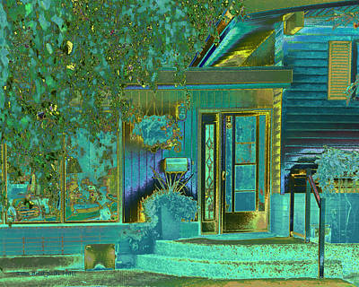 Photograph - Aqua House 1 by Don and Judi Hall