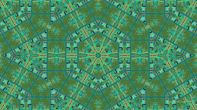 Digital Art - Aqua House 4 by Don and Judi Hall