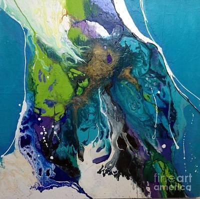 Painting - Aqua Mystique by Elaine Callahan