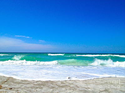 Photograph - Aqua Surf by Margie Amberge