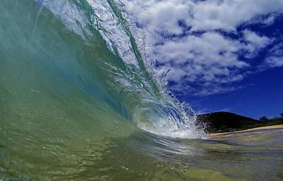 Photograph - Aqua Wash by Brad Scott