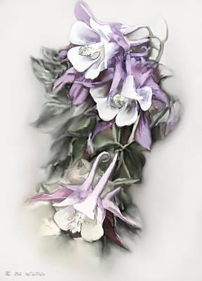 Aqualigia Cascade Art Print