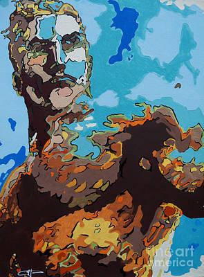 Aquaman - Reflections Art Print