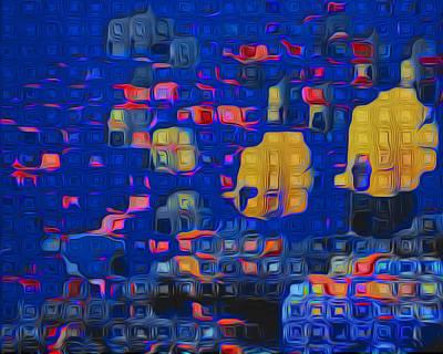 Water Way Painting - Aquarium by Jack Zulli