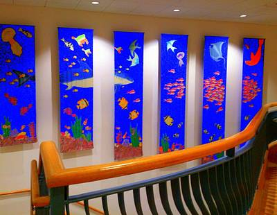 Photograph - Aquarium Wall Art by Pamela Hyde Wilson