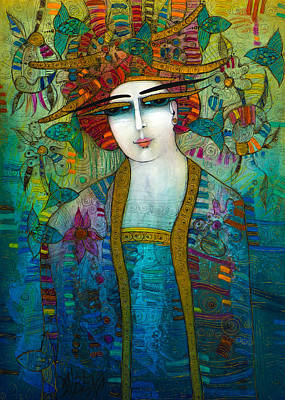 Painting - Aquarius by Albena Vatcheva